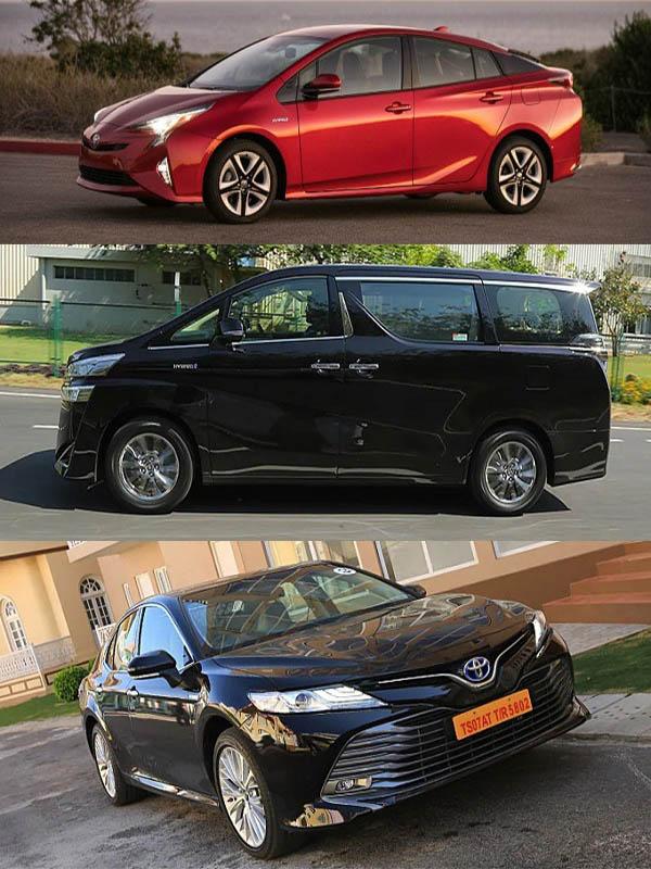 Toyota-hybrid-vehicles