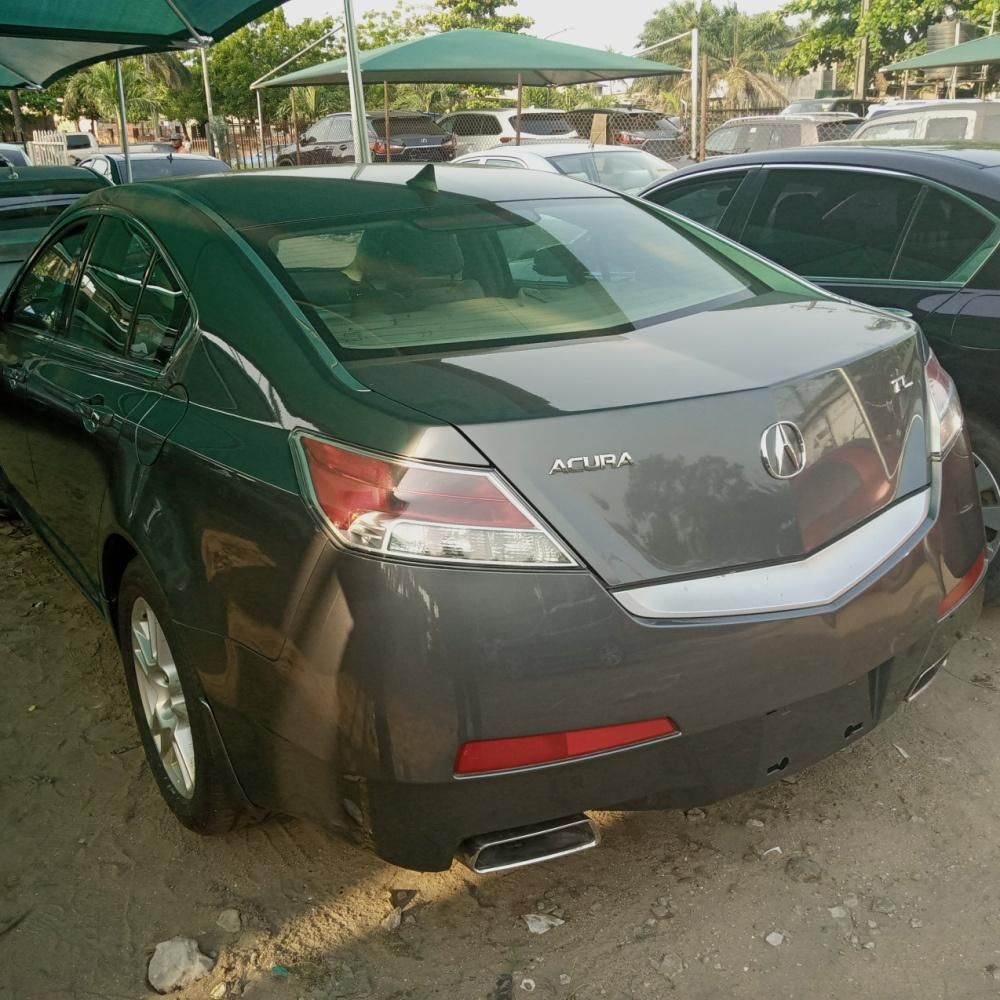 Foreign Used Acura TL 2010 Model Gray