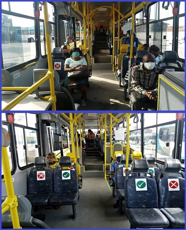 Lagos-BRT-buses-adhere-to-government-transport-guidelines-with-new-seat-arrangements