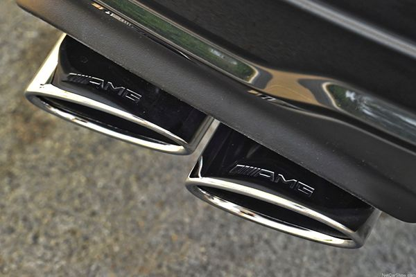 AMG-exhausts