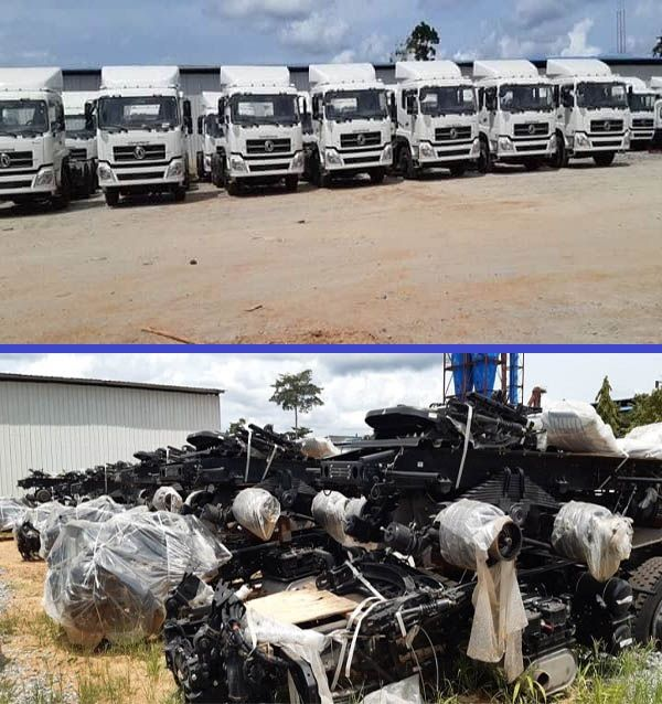 new-trucks-at-Ondo-state-truck-assembly-plant