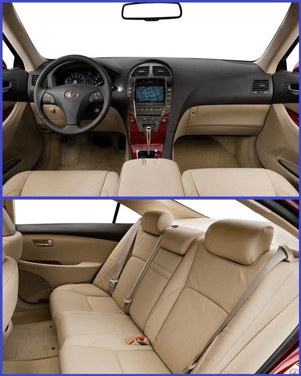 Interior-of-2008-Lexus-ES-350-sedan