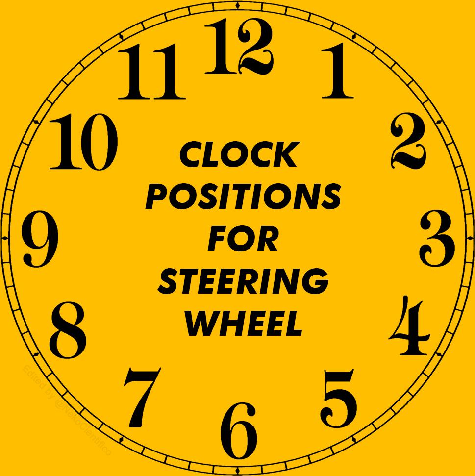 clock-position-of-car-steering-wheel