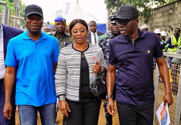 Lagos-Governor-Babajide-Sanwo-Olu-and-special-adviser-Mrs-Aramide-Adeyoye