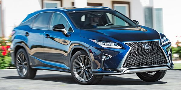 Front-side-view-of-the-2016-Lexus-RX-350