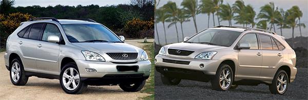 The-Lexus-RX-400h-VS-RX-330