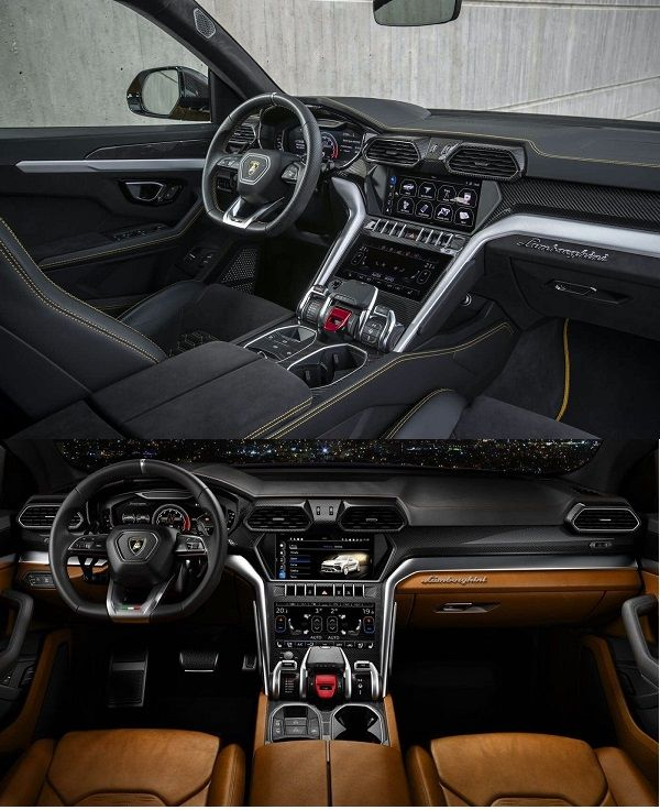 2020-Lamborghini-Urus-cockpit-two-views