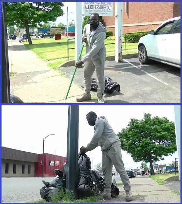 Antonio-Gwynn-cleaning-up-his-neighborhood