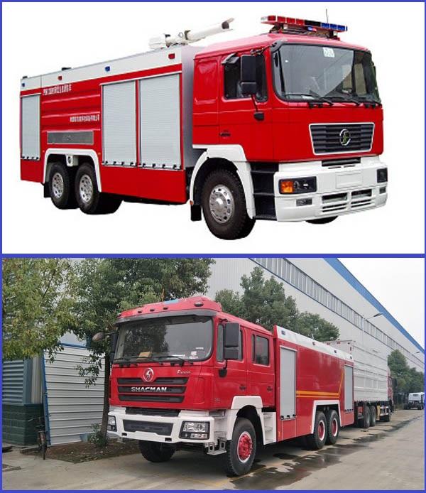 Shacman-fire-trucks