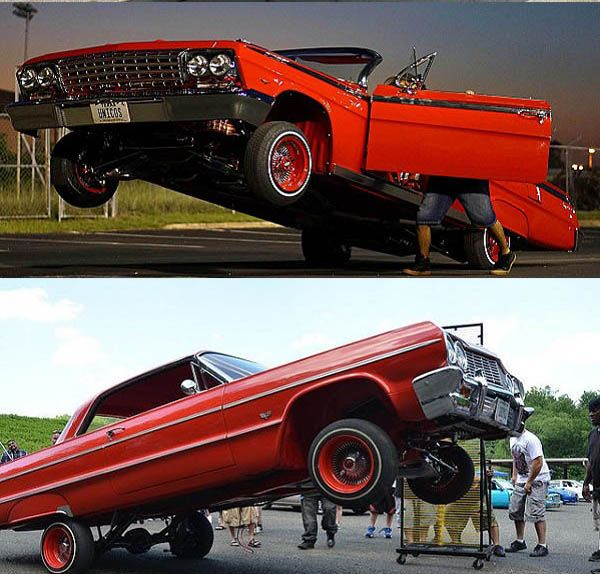 Beautiful-lowrider-hopping-cars