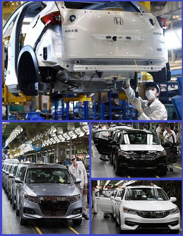 Honda-vehicle-production-plants