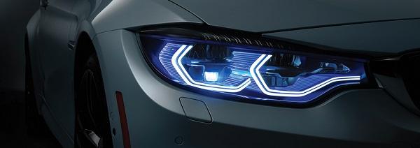 Laser-headlight-on-car