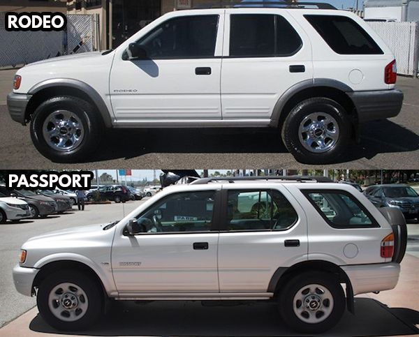 Isuzu-Rodeo-and-Honda-Passport