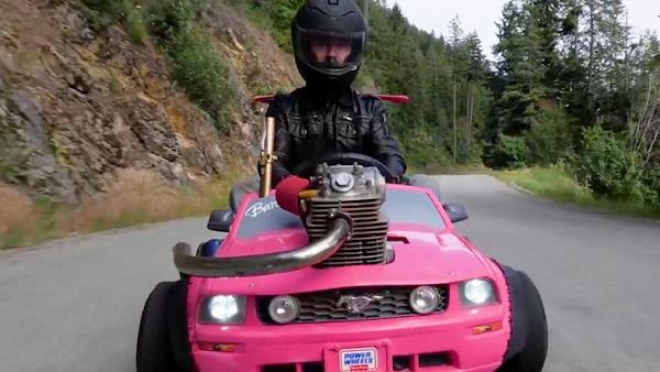Modified-Barbie-car