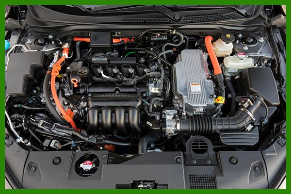 Engine-of-the-2019-Honda-Insight