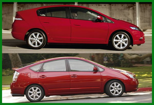 Toyota-Prius-and-Honda-Insight