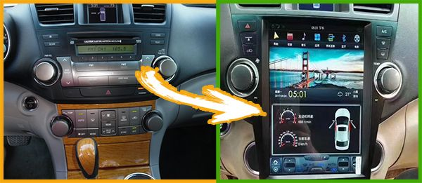 Android-screen-for-Toyota-Highlander