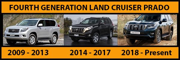 Generations-of-Toyota-Land-Cruiser-Prado