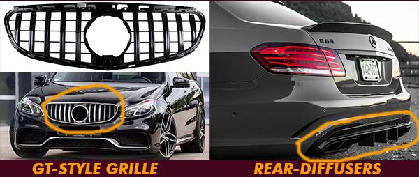 Rear-diffuser-for-W212-E-CLASS