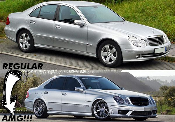 AMG-Facelift-upgrade-for-2009-W211-E-Class