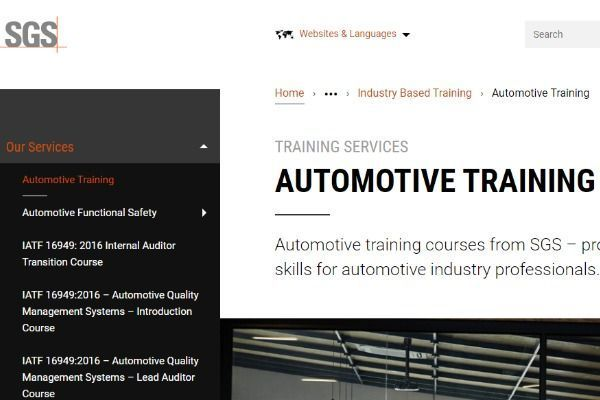 SGS-web-page-for-Automotive-training