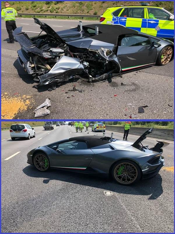 Crashed-Lamborghini-Huracan-Spyder-supercar-in-England
