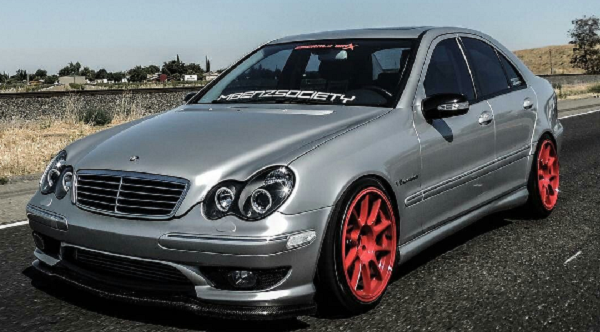 Modified-W203-Benz-Front-view