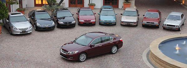 Honda-Accord-generations-and-models