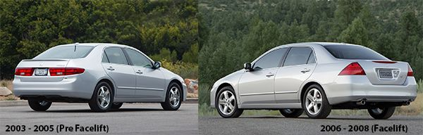 2005-Honda-Accord-End-of-discussion-Vs-2006-Honda-Accord-Discussion-continues-rear-view