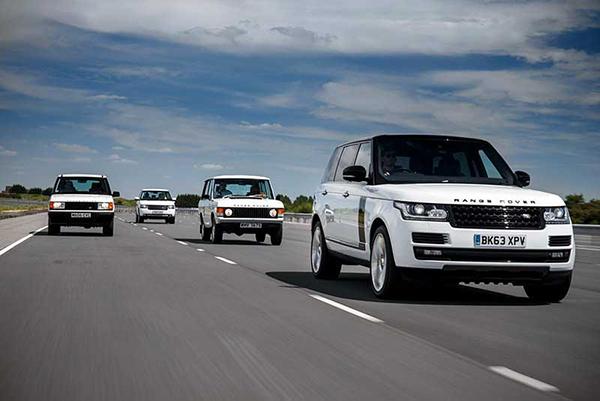 All-Range-Rover-generations
