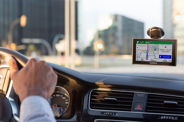 GPS-system-in-a-car