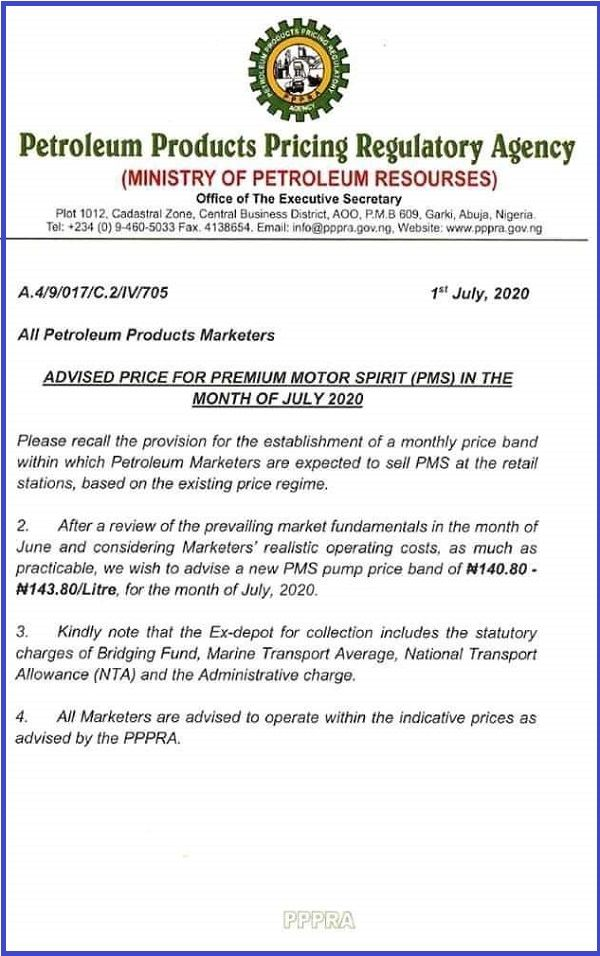 PPPRA-petrol-price-increment-circular