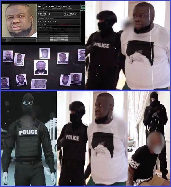 Dubai-police-arresting-Ray-Hushpuppi-and-Mr-Woodberry