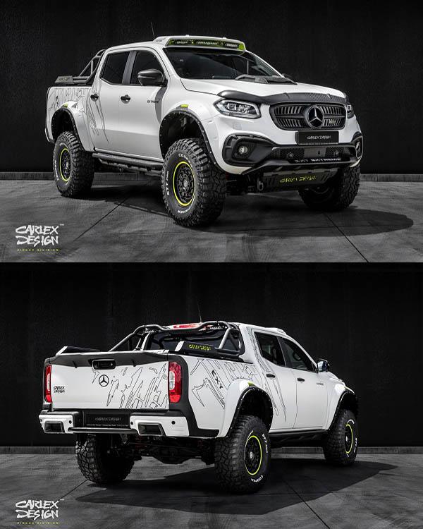 Modified-Mercedes-Benz-X-Class-truck