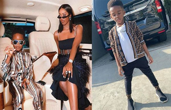Tiwa-Savage-flaunts-her-Mercedes-V-Class-with-son-Jamil