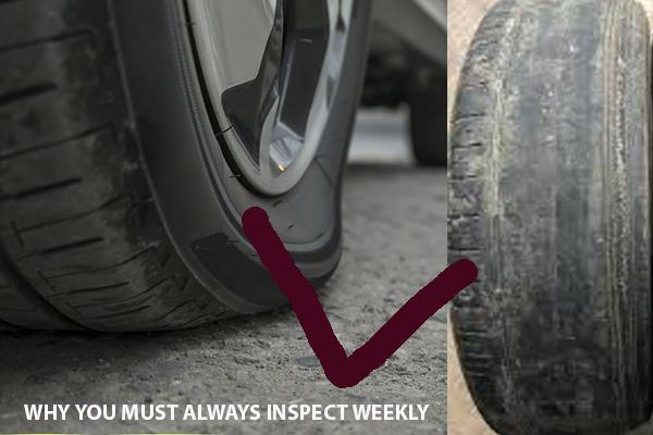 Tyre-wear-and-tear-on-a-car