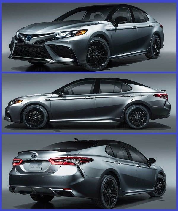 check out the newly revealed 2021 toyota camry sedan with