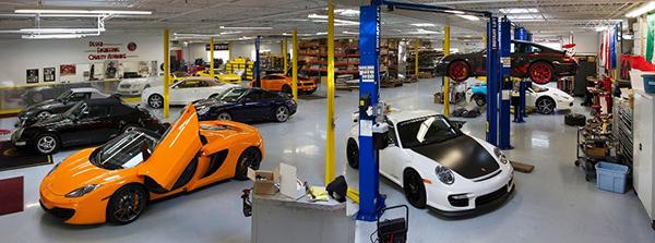 Supercar-workshop
