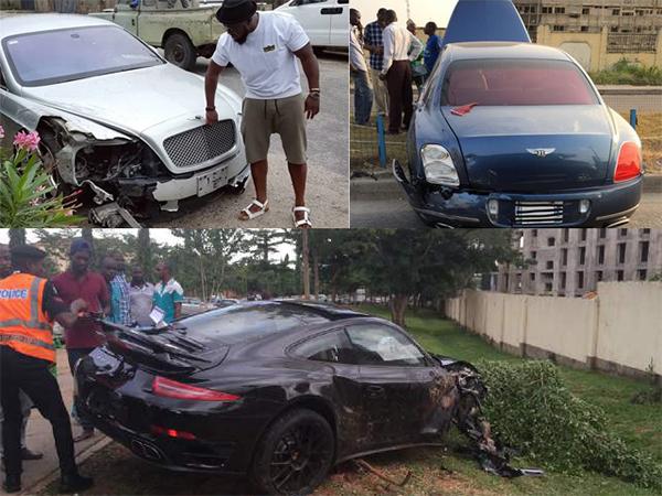 Timaya-Bentley-Accident-Porsche-Accident
