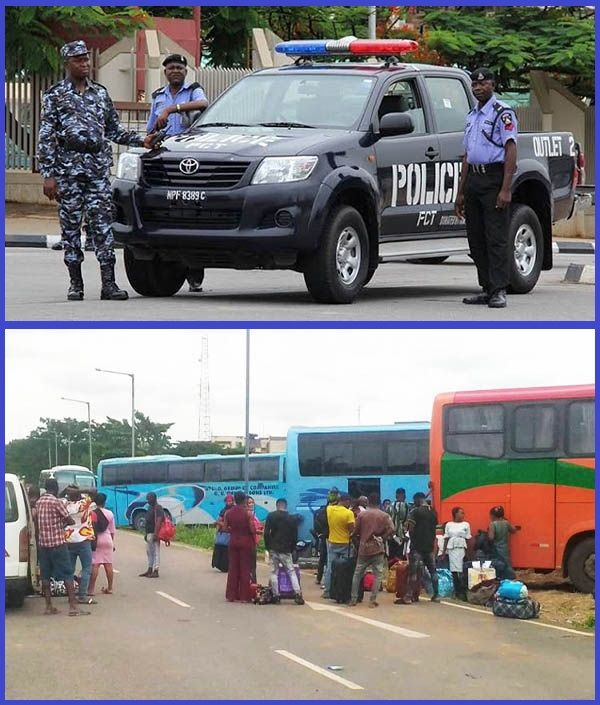 Some-inter-state-travelers-arrested-by-Lagos-police