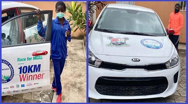Winners-of-2020-Lagos-City-Marathon-race-and-their-Kia-car-prizes