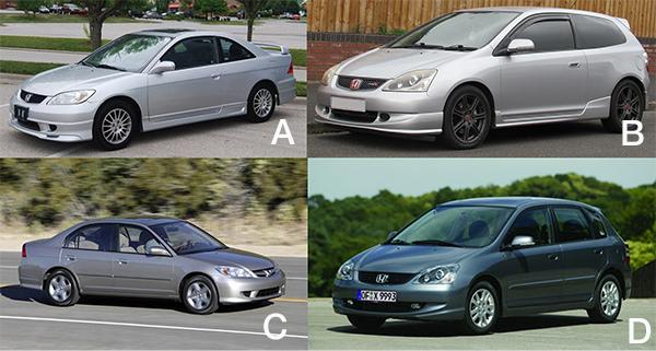 Honda-Civc-Body-styles
