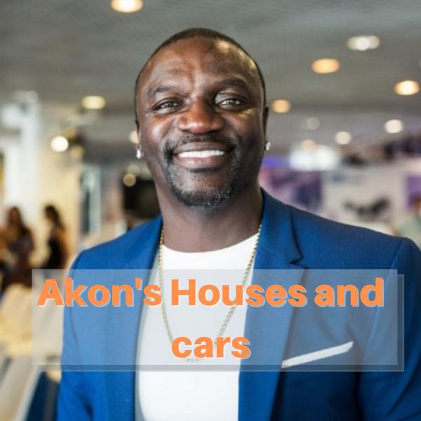 Akon's houses-and-cars