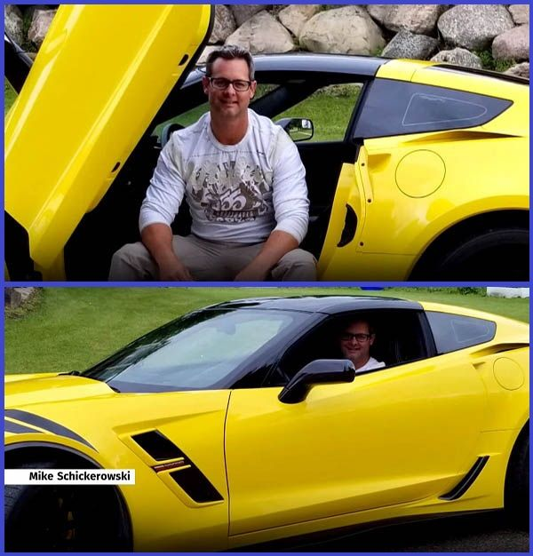 Mike-Schickerowski-poses-with-his-Chevy-Corvette-sports-car