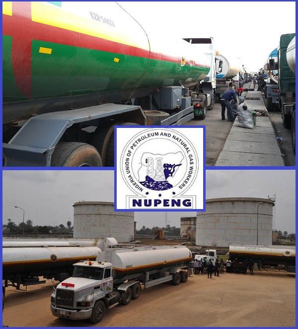 NNPC-Petrol-tankers-at-oil-Depot