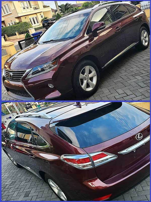 Photos-of-Lexus-RX-350-SUV-that-Actress-Chika-Lann-gifted-her-husband