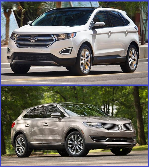 2015-Ford-Edge-SUV-and-2018-Lincoln-MKX-midsize-SUV