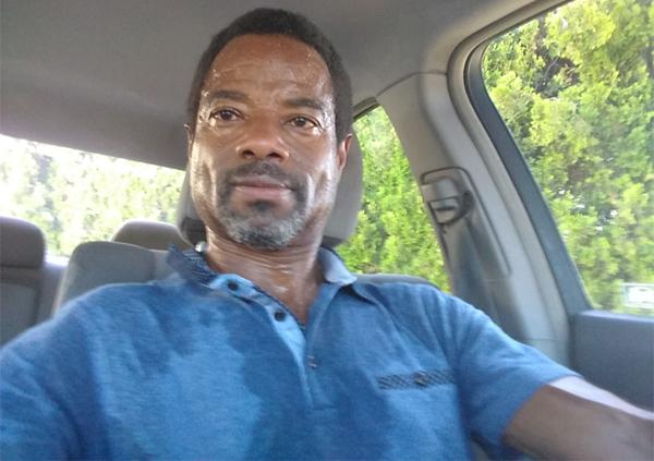 Man-sweating-in-a-car