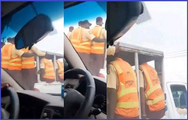 LASTMA-officers-caught-violating-COVID-19-safety-guidelines-in-Lagos