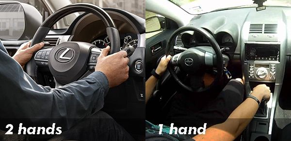 turning-steering-with-2-hands-vs-1-hand